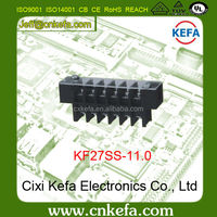 Free sample KF27SS-11.0mm pitch PCB Barrier Terminal Block connector with Cover & Screw 300V 30A
