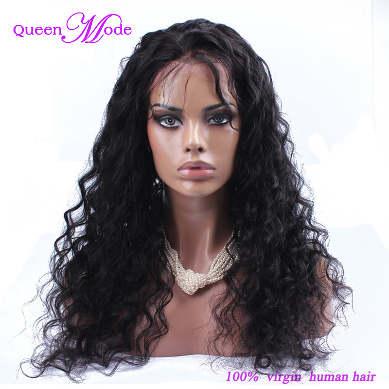 2017 New Cheap Loose Wave Brazilian Hair Lace Front Wig with Baby Hair