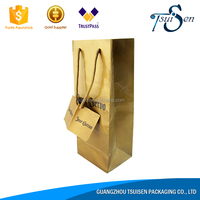 Red Wine oem kraft paper gift bags new items in china market