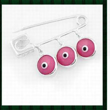 Best gift evil eye safety pin for new born babies