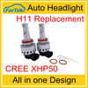 7s h8 h9 h11 led headlight xhp50 2017 year !!!