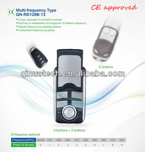 universal rf adjustable frequency remote control, 10 frequency optional, multi-freequency remote duplicator