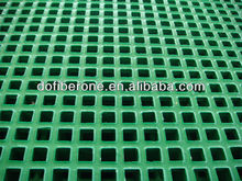 Fiberglass frp grp concrete swimming pool gutter grating