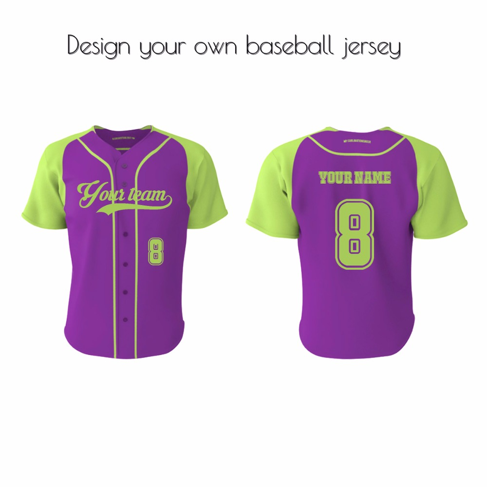 Custom o neck sublimation printing baseball jersey roberto clemente jersey
