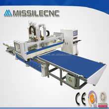 High speed atc system panel customized furniture production line cnc router/machine for cabient,bureau