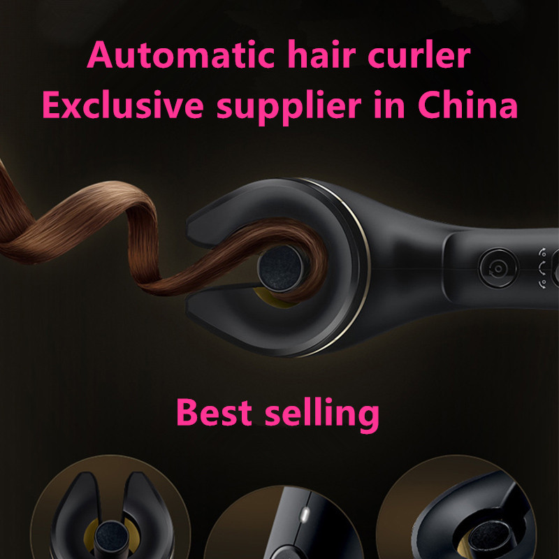 Easy to use on barber shop tools high tec magic new design hair curler as seen as on tv ceramic auto curling iron