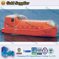 Oceanic BV Aprroved Fire Protected FRP Lifeboat Rescue boat