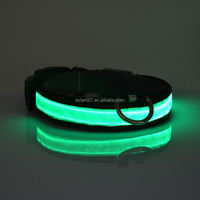 New design Colorful Adjustable hot pet products led dog collar