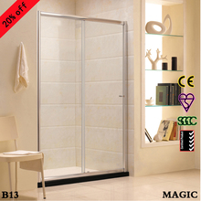Foshan Magic Sliding door tempered glass shower screen
