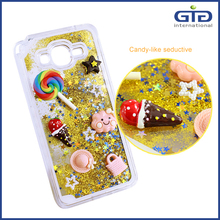 [GGIT] DIY 3D Polymer Clay Tiles Liquid with Labels for iPhone 6 Cell Phone Cover