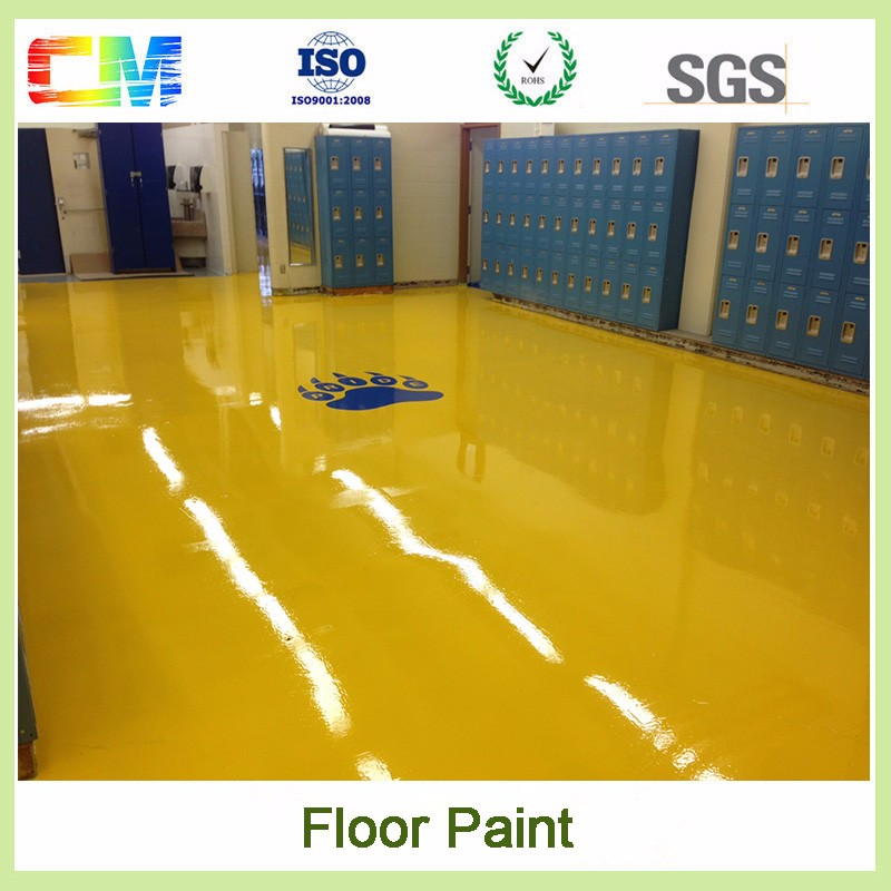 CM high quality epoxy resin flooring coating for indoor