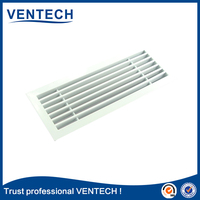 Air conditioning linear grilles/ diffusers/ linear bar grille for air vent