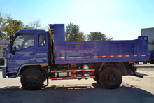 140 hp Diesel Engine EURO III Emission 4X2 15 tons Dongfeng Dump Tipper Truck for sale