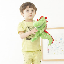 SEV.WEN Baby Pajamas Summer Boys Short Sleeve Sets Kids Sleepwear For Boys Cotton Children's Pajamas Clothes Suit