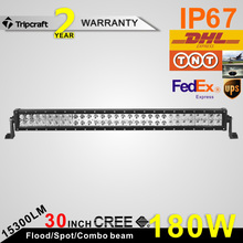 31.5 inch 4x4 accessory 180W LED OFFROAD LIGHT BAR auto Led Offroad Light Bar 12v led lights montero sport