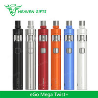 Large Stock 4ml 30W 2300mAh Joyetech eGo Mega Twist+ Full Kit vaporizer pen