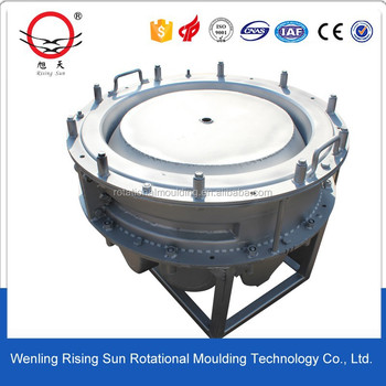 Aluminum casting rotomolding mold or fabricated steel rotomolded mould