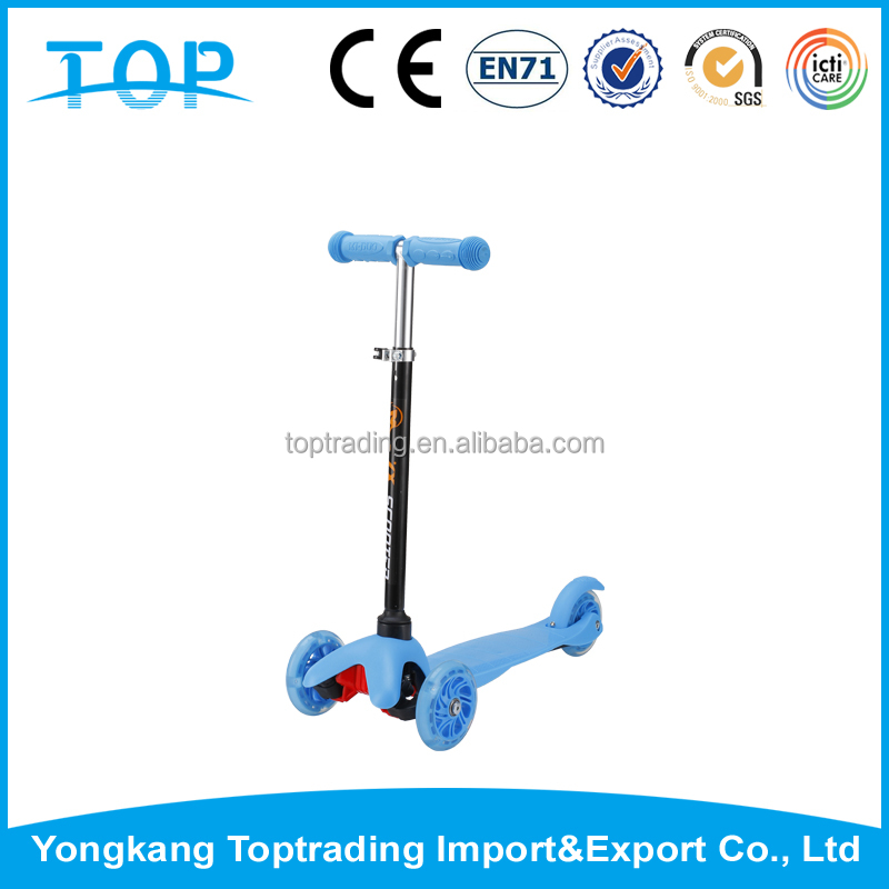 China factory direct supply 3 wheel scooter kick scooter for elderly