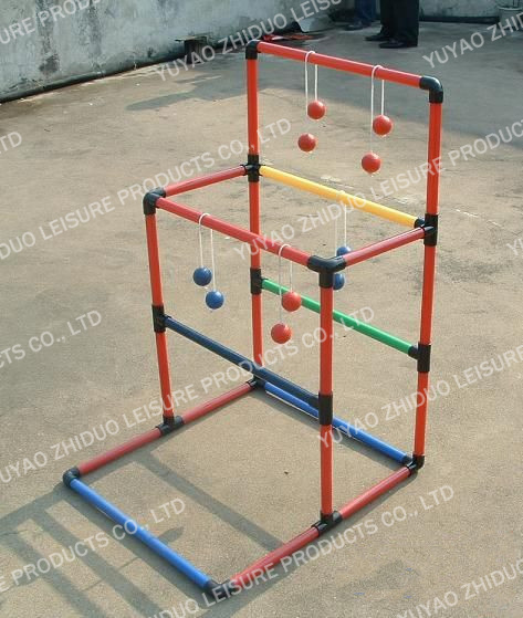 plastic ladder golf using for outdoor game