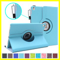 360 Rotating Leather Case for ipad pro 9.7 Smart Case Plain color Hot selling on Amazon Supplier for iPad Case Manufacturer