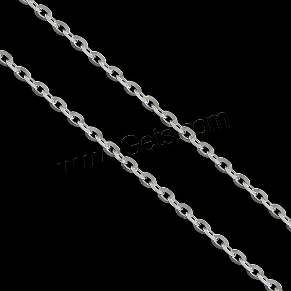 Latest design mens chain 925 sterling silver jewelry chain