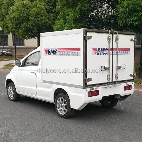 2 person electric cargo car body made of holypan