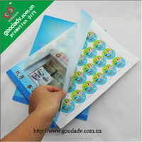 2015 New Arrival clear plastic file folders clear plastic file envelopes