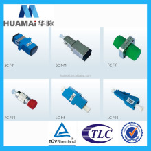 FC/LC/SC Fiber Optic Attenuator, Male to Female, Flange Type