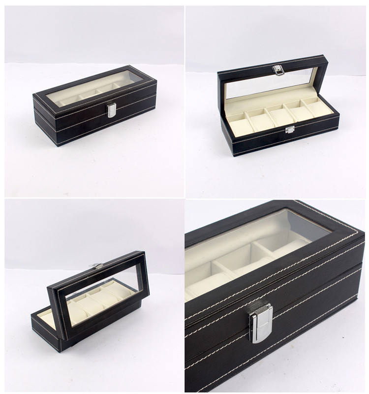 wooden display watch boxes