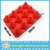 baking mould 3D christmas tree silicone cookie chocolate cake mold