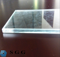 Super light permeability ultra clear float glass for construction