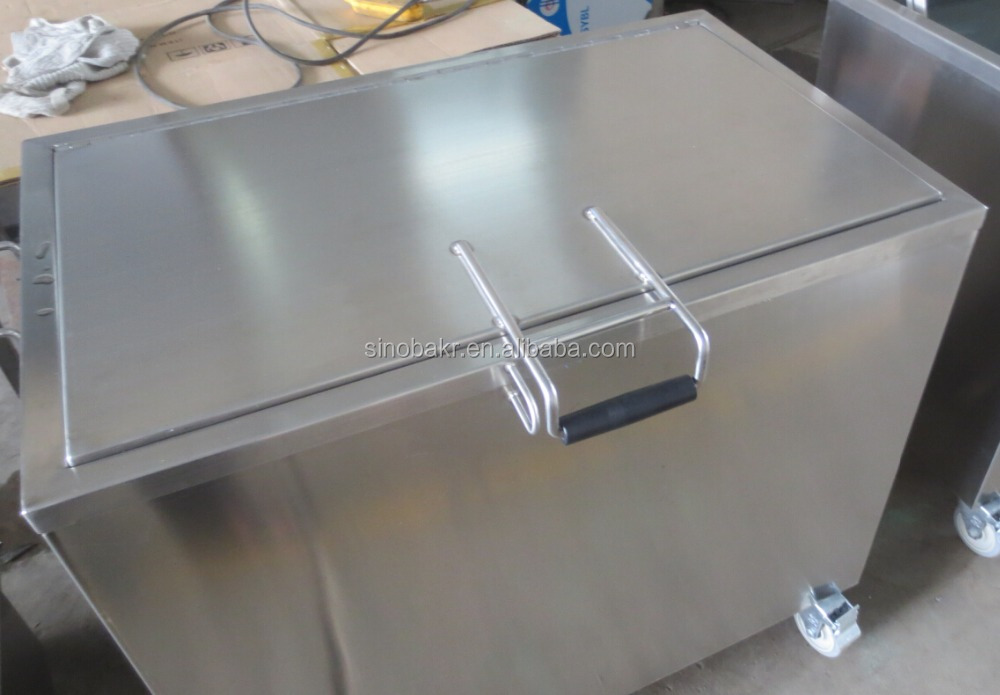 Ultrasonic tank cleaner stainless steel soak tank 168l