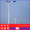 Green power Solar LED street light complete with solar panel, battery and lamp
