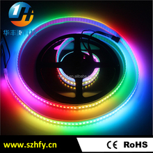 Full color waterproof led strip ws2812b ic DC 5V smd 5050 addressable rgb led strip
