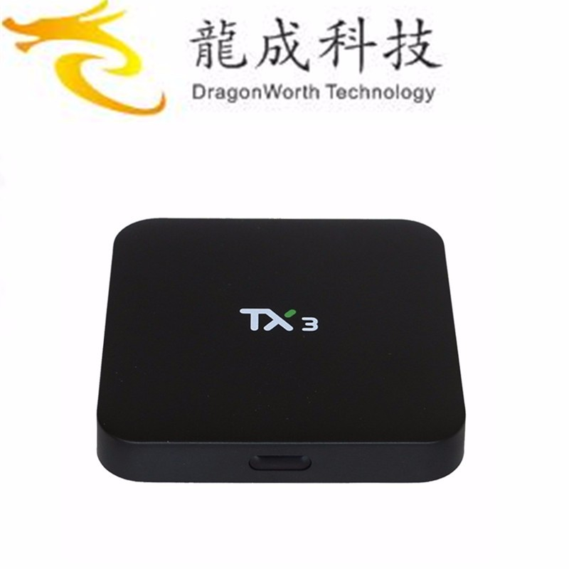 Tx3 Android TV Box Amlogic S905 Quad core Set top Box <strong>1</strong> <strong>G</strong> / 8 <strong>G</strong> Android 5.<strong>1</strong> H.265 WIFI Media Player Smart TV