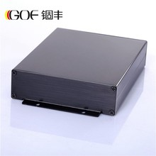 Aluminum Alloy Square Electronic power Enclosure extruded junction box/case/cabinet