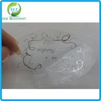 Dongguan professional label printing custom glass cosmetic jars self adhesive label sticker company made in China
