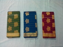 Kanchi silk cotton sarees