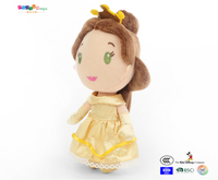Disney Belle princess plush doll toy ICTI factory