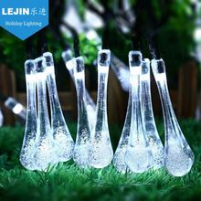 Most reliable supplier outdoor decoration christmas solar led string lights