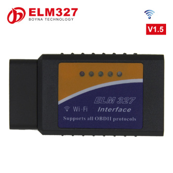2017 V1.5 wifi dector elm327 wifi obdii obd2 diagnostic interface Code reader scanner