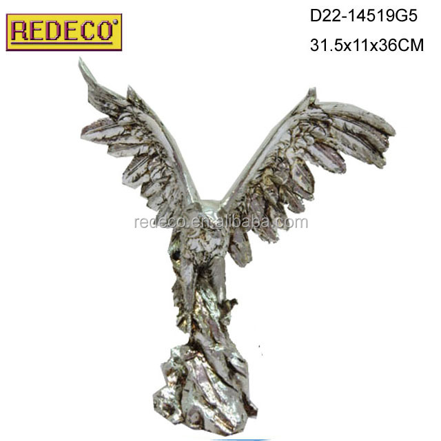 Excellence awards trophy,Large metal eagle awards statue, resin eagle statue