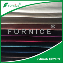 FORNICE HOT SELL 100%polyester Italy velvet for curtain
