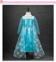 frozen elsa costume queen birthday party flower girl dress patterns for sale