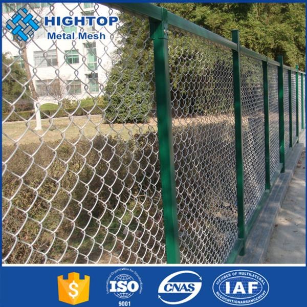 High quality low price Professional plastic covered chain link fence