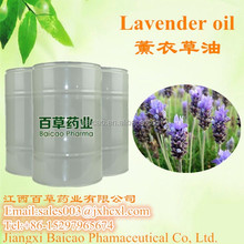 factory wholesale 100% natural lavender oil in bulk