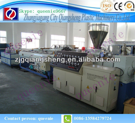 double strand UPVC duct making machine