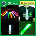 Glovion hot sale Reflective Lattice led flashing adult christmas ties