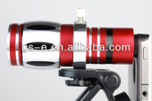 New 12.5x Optical Zoom Aluminum Telescope Camera Telephoto Lens for Smart Phone