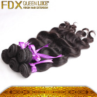 Fashionable Natural No-Remy Brazilian Hair Piece,Resale is Supportable